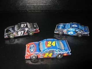 WIZ KIDS Race Day CRG NASCAR Racing Game Cars RARE!
