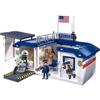 Playmobil Police Take Along Station   Playmobil   Fire, Police