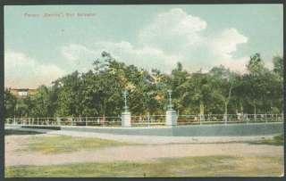 EL SALVADOR SAN SALVADOR Barrios Park Old Postcard VF |
