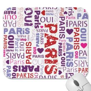 Cute mousepad with cool graphic pattern in retro style. Cute gift for
