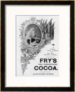 An Advertisement for Frys Cocoa to Celebrate Queen Victorias Diamond