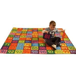 Be Active Giant 1 100 Numbers Fun Play Carpet & its a great floor