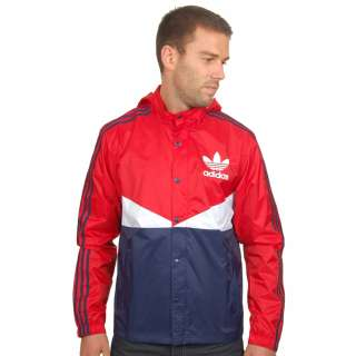 Adidas Originals AC Colour Windbreaker in Red and Navy ADID.057782 buy