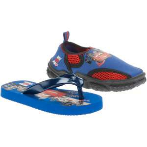 Disney   Toddler Boys Cars 2 Flip Flops and Water Shoes