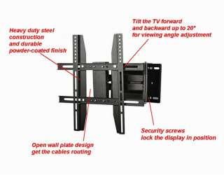TV Mount Bracket For 17 40 inch LED Plasma Tilt Swivel Corner Flat