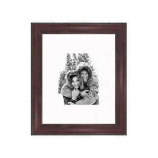 Frames By Mail 16 x 20 Rustic Pitted Frame in Cherry
