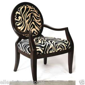 Zebra or leopard accent chair upholstered jungle print pattern free - Zebra Or Leopard Accent Chair Upholstered Jungle Print