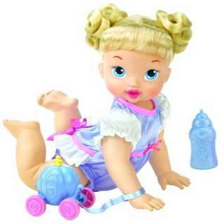 Disney My Baby Princess Cinderella Crawl and Feed Doll is perfect for