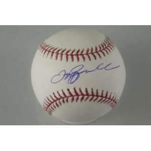 ASTROS JEFF BAGWELL SIGNED AUTHENTIC OML BASEBALL PSA