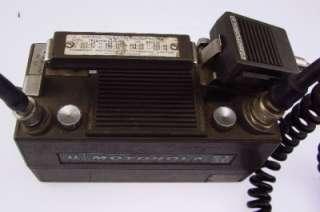 Vintage Motorola Handie Talkie PT 300 lunchbox HT radio transceiver