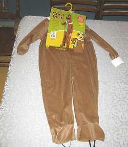 Halloween Child Costume Hanna Barbera Yogi Bear