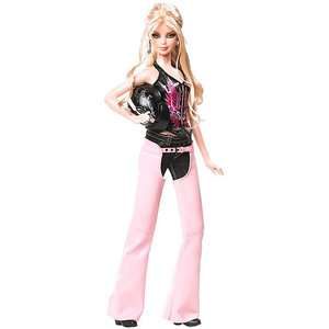 Barbie Pink Label   Harley Davidson Barbie Collectors Doll Dolls