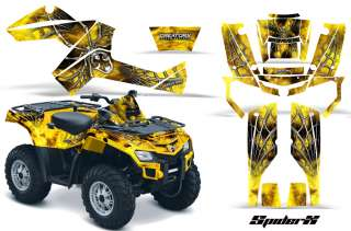 CAN AM OUTLANDER 500 650 800R 1000 GRAPHICS KIT DECALS STICKERS SXYY