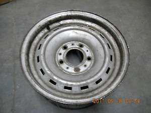 CHEVY/GMC TRUCK RALLY WHEEL BLAZER 1/2 TON VAN RIM C10 5 ON 5 PICKUP