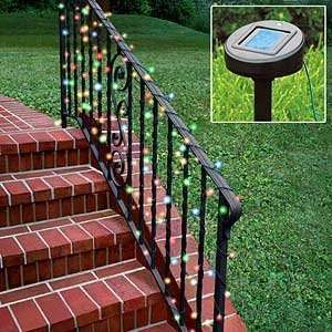 Solar Powered Multi Color Christmas Lights Solar String Lights 50 LED
