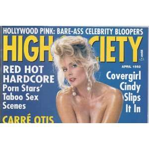 HIGH SOCIETY APRIL 1992 CARRE OTIS: HIGH SOCIETY MAGAZINE: Books