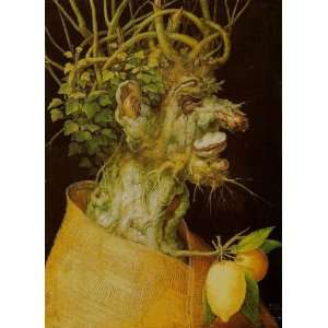 Giuseppe Arcimboldo   24 x 34 inches   Winter (LIn