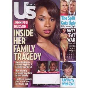 11 10 08) Featuring, JENNIFER HUDSON Inside Her Family Tragedy Books