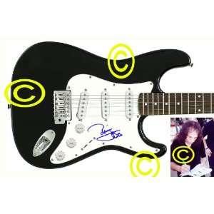 Black Sabbath Autographed Ronnie James Dio Signed Guitar