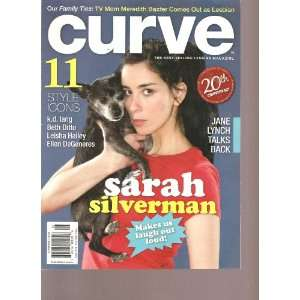 Curve Magazine (Sarah Silverman Makes us laugh out loud