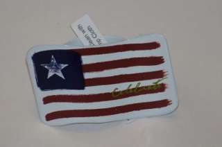 4th of July American Flag OR Cherries Napkin Rings NEW