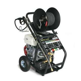 Series 4.0 GPM Honda GX390 Cold Water Pressure Washer with Hose Reel