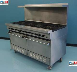 Garland 10 Burner Natural Gas Commercial Natural Gas Range Stove