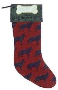 NEW Christmas Stocking for German Shepherd dog gift