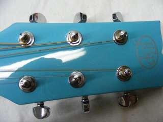 JB Player JBEA15 Bloom Acoustic Electric Single Cutaway Guitar   Blue