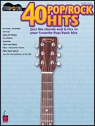 40 Pop/Rock Hits Easy Guitar Sheet Music Song Book NEW