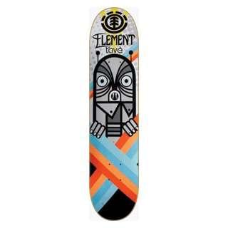Element Skateboards Tave Microdot Deck  7.75 Featherlight