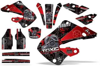 AMR RACING GRAPHICS KIT HONDA CR250 CR125 250 97,98,99