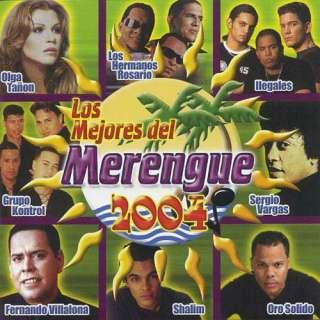 Los Mejores Del Merengue 2004, Various Artists   Meringue