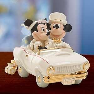 Lenox Disney Mickey & Minnies Dream Honeymoon Figurine
