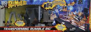 TRANSFORMING RUMBLE RIG   WWE RUMBLERS TOY WRESTLING ACTION FIGURE