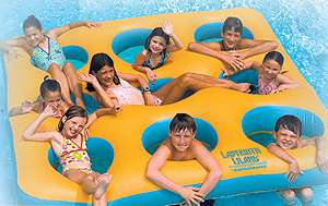 Labyrinth Island Inflatable Floating Pool Kids Toy