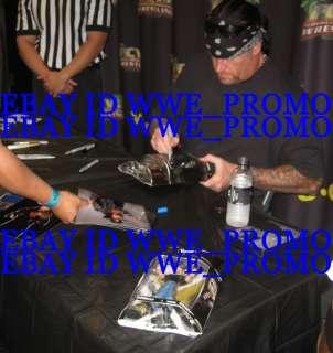 WWE CLASSIC SUPERSTAR FIGURE UNDERTAKER SIGNED 1/3000