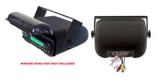 New Pyle PLMRCB3 Universal Waterproof Marine Stereo Radio Cover Wired