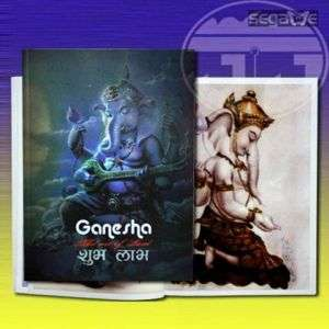 RARE TATTOO SKETCH FLASH DESIGN ART BOOK Ganesha INDIA