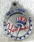 NEW YORK YANKEES Logo Pewter Keychain