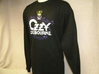 vtg OZZY OSBOURNE t shirt LS XL