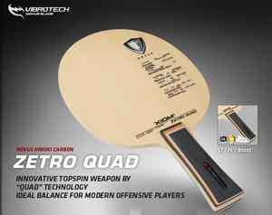 Quad Novus Hinoki Carbon OFF+ Table Tennis Ping Pong Racket