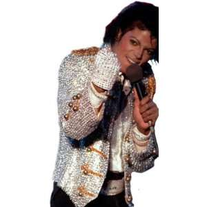 Rubies Costumes Michael Jackson Adult Sequin Glove / Silver   One Size