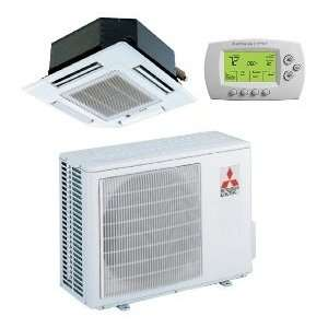 9,000 Btu/h 15 Seer Mitsubishi Single Zone Mini Split Heat Pump System