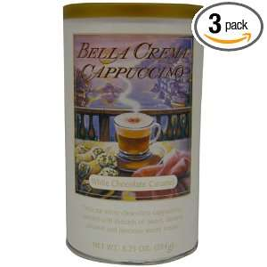 Bella Crema White Chocolate Caramel, 8.25 Ounce (Pack of 3)