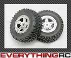 Traxxas Rustler Tire Wheel Set Wheels OFF ROAD