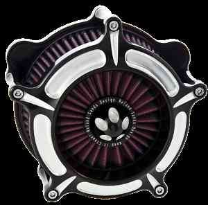 RSD ROLAND SANDS DESIGN TURBINE AIR CLEANER 4 HARLEY DAVIDSON SOFTAIL