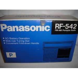 Panasonic AM/FM Portable Radio MP3 Players & Accessories