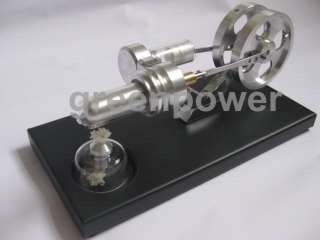 Brand New Hot Air Stirling Engine Education Toy Kits Electricity Power