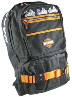 Harley Davidson Backpack Travel Bag Book Bag